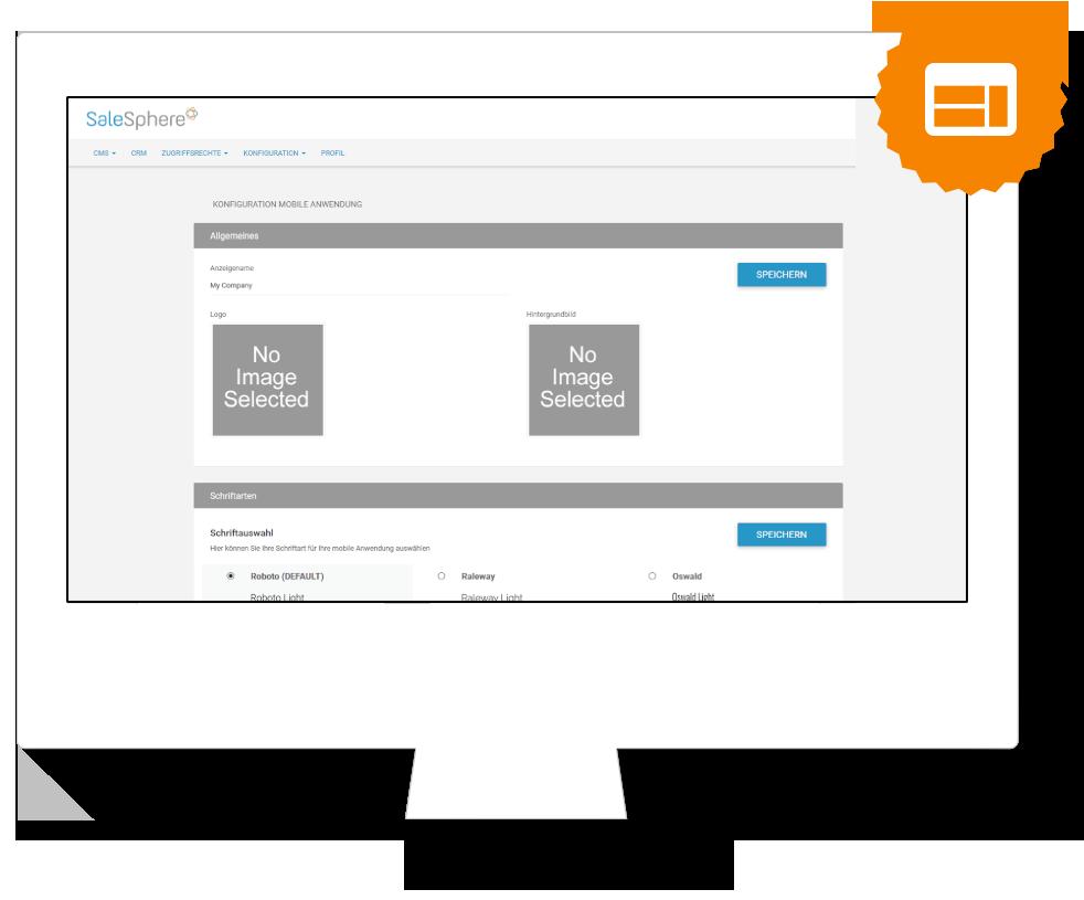 SaleSphere - Web App Administration