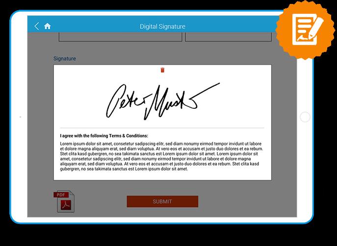 SaleSphere - Digitale Unterschrift