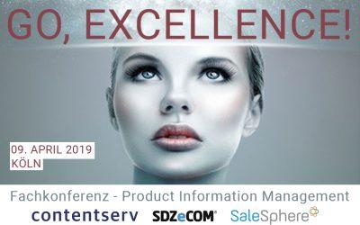Go, Excellence! Maximale Effizienz & Performance für Ihre Produktdaten