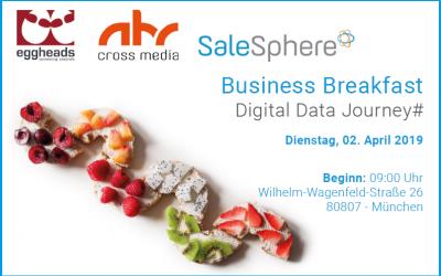 Business Breakfast zum Thema Digital Data Journey