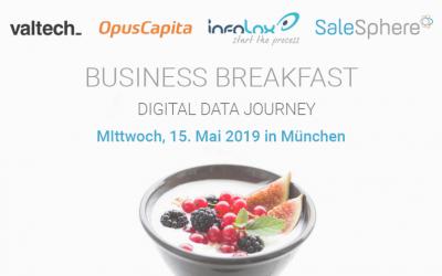Business Breakfast: Effiziente Nutzung von Produktdaten im B2B-Vertrieb