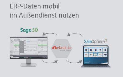 Sage 50 Daten mobil im Außendienst nutzen