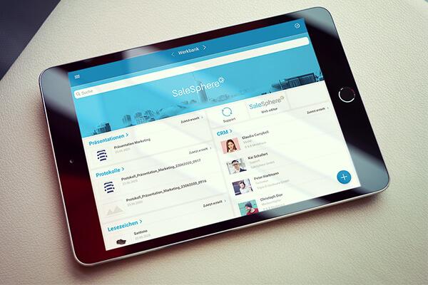 SaleSphere mit neuem iOS-Dashboard