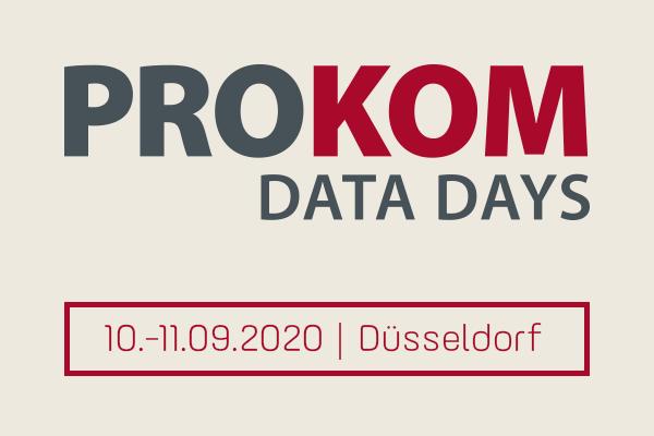 SaleSphere und Riversand auf den PROKOM Data Days